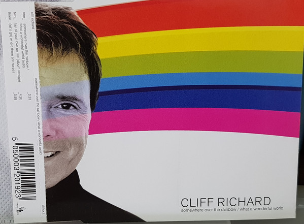 Richard, Cliff Somewhere Over The Rainbow / What A Wonderful World Vinyl