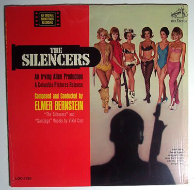 Elmer Bernstein The Silencers (Soundtrack)