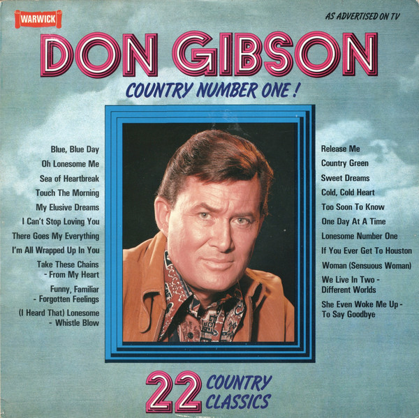 Gibson, Don Country Number One Vinyl