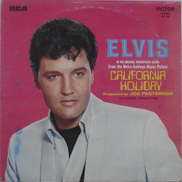 Presley, Elvis California Holiday Vinyl