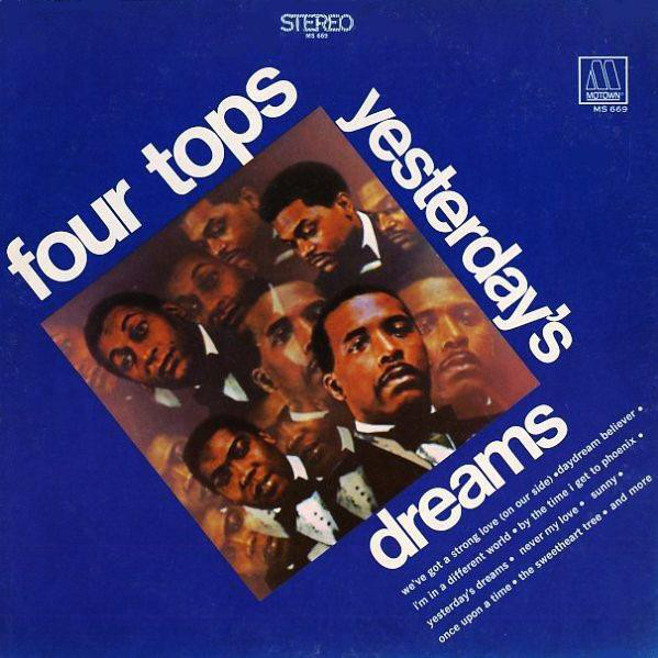 Four Tops Yesterday's Dreams Vinyl
