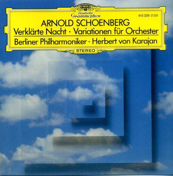 Schoenberg – Berliner Philharmoniker, Herbert von Karajan Verklärte Nacht / Variationen Für Orchester