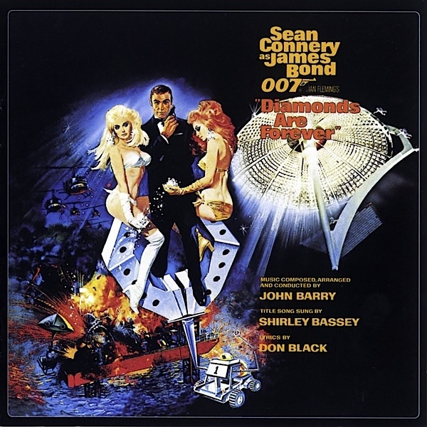 Barry, John Diamonds Are Forever (Original Motion Picture Soundtrack)