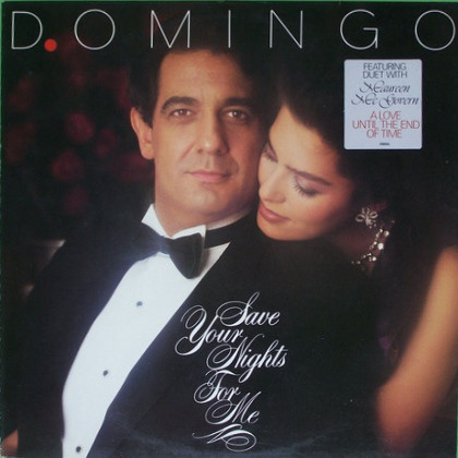 Domingo, Placido Save Your Nights For Me Vinyl