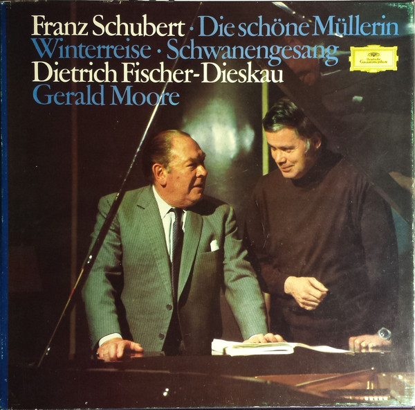 Schubert - Fischer-Dieskau, Gerald Moore Lieder Volume 3 Vinyl