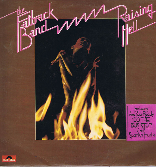 Fatback Band Raising Hell Vinyl