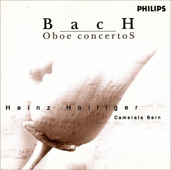 Bach - Heinz Holliger, Camerata Bern Oboe Concertos Vinyl