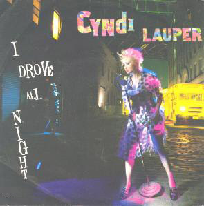 Lauper, Cyndi I Drove All Night
