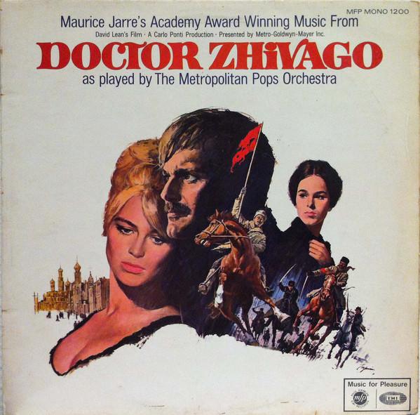 Maurice Jarre / The Metropolitan POPS Orchestra Doctor Zhivago Vinyl