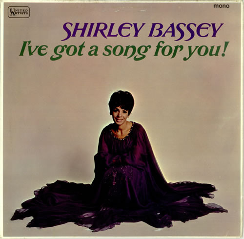 Bassey, Shirley I've Got A Song For You Vinyl