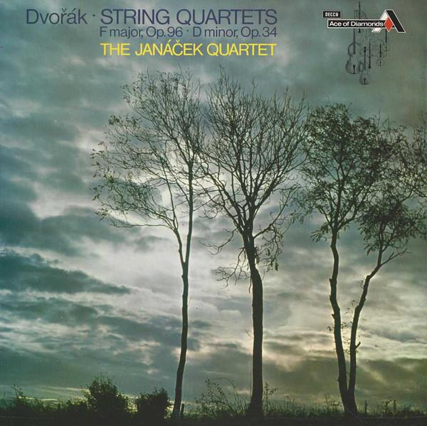 Dvorak - The Janacek Quartet String Quartets F major, Op. 96, D minor, Op. 34 Vinyl