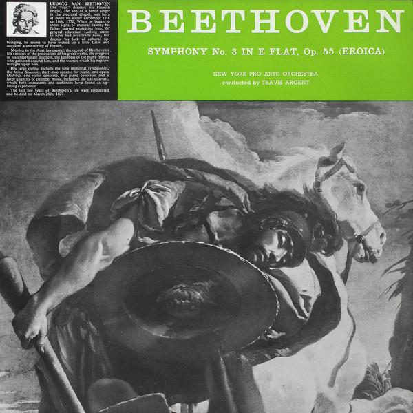 Beethoven - Travis Argent Symphony No. 3 in E Flat, Op. 55 (Eroica) Vinyl