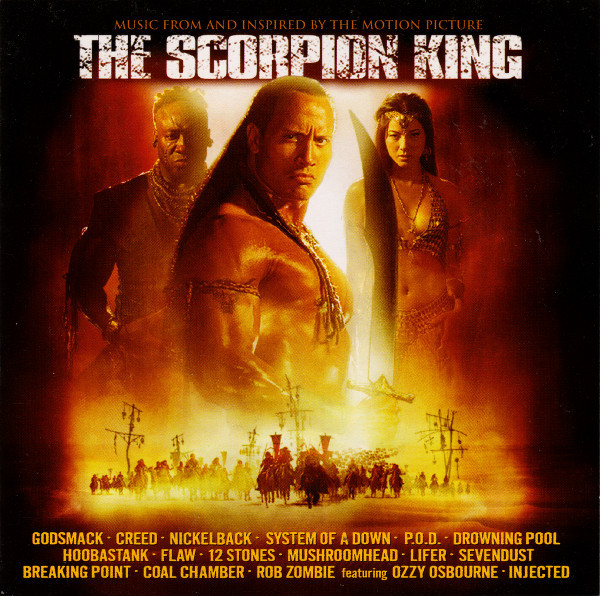 Various The Scorpion King: Music From And Inspired By The Motion Picture CD