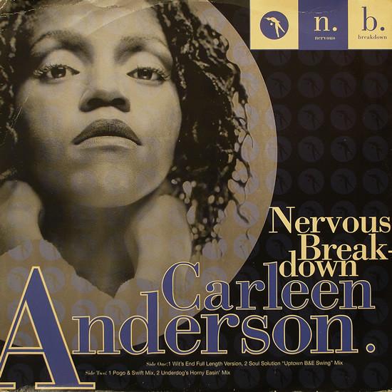 Anderson, Carleen Nervous Breakdown Vinyl