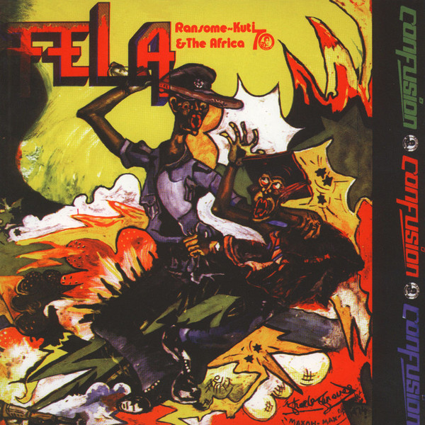 Fela Ransome-Kuti & The Africa 70 Confusion Vinyl