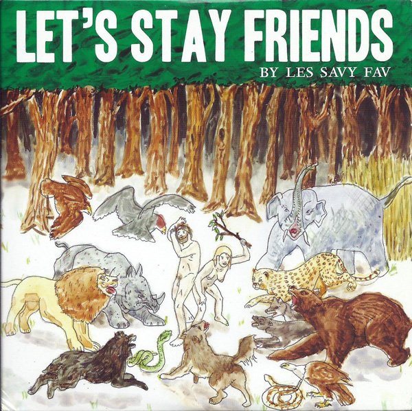 Les Savy Fav Let's Stay Friends Vinyl