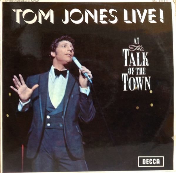 Jones, Tom Live At The Talk Of The Town
