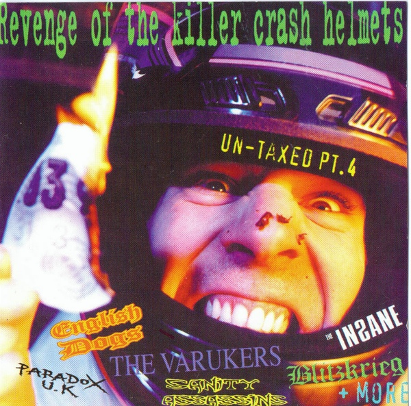 Various Artists Revenge Of The Killer Crash Helmets