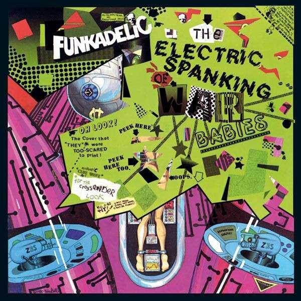 Funkadelic The Electric Spanking Of War Babies Vinyl