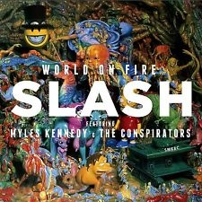 Slash - Featuring Myles Kennedy & The Conspirstors World On Fire Vinyl