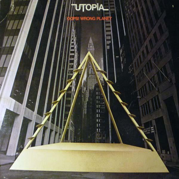Utopia Oops Wrong Planet Vinyl