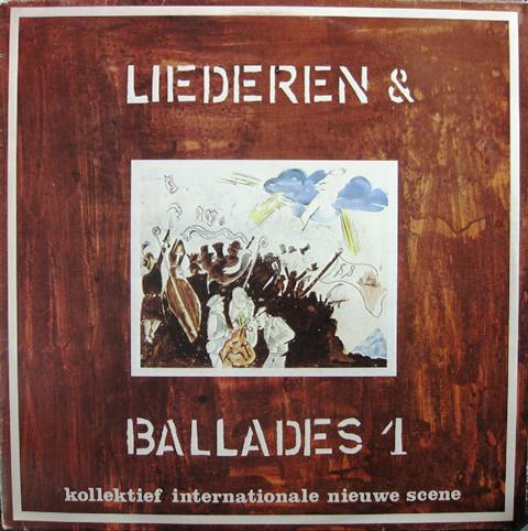 Kollektief Internationale Nieuwe Scene Liederen & Ballades 1 Vinyl