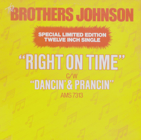 The Brothers Johnson Right On Time / Dancin' & Prancin'