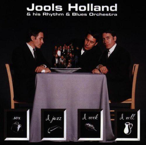 Jools Holland & His Rhythm & Blues Orchestra Sex & Jazz & Rock & Roll CD