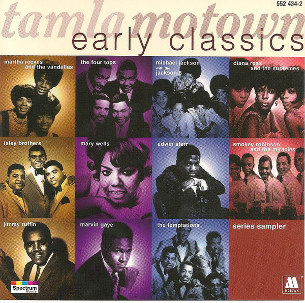 Various Tamla Motown Early Classics