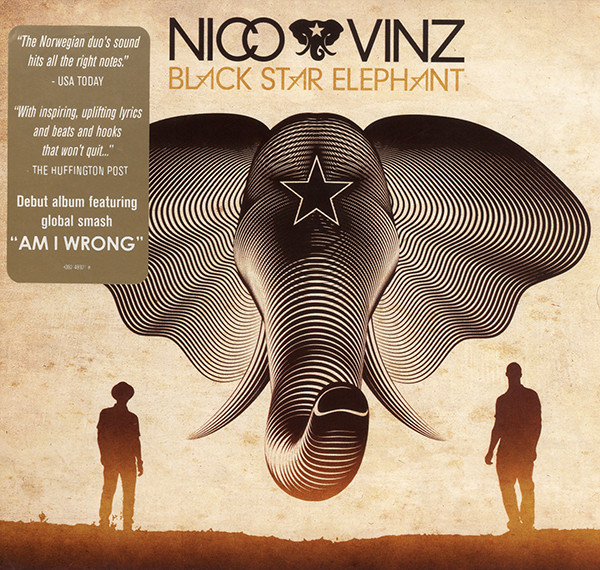 Nico & Vinz Black Star Elephant CD