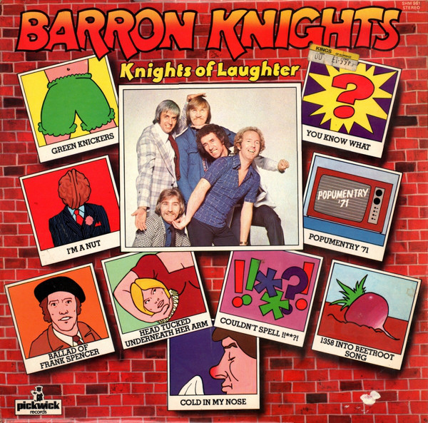 Barron Knights Knights Of Laughter Vinyl