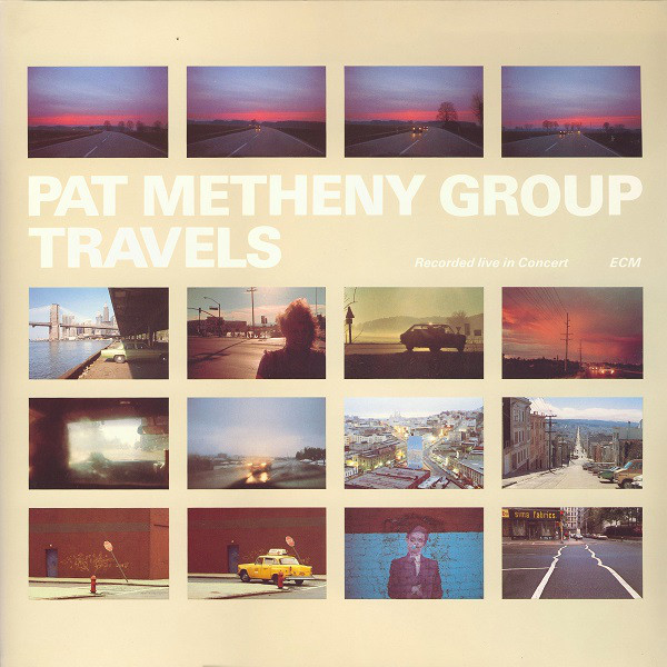Pat Metheny Group Travels Vinyl