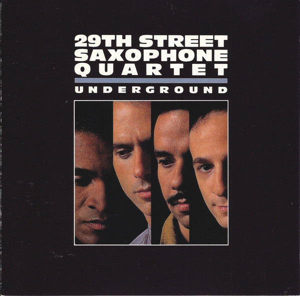 29th Street Saxophone Quartet Underground CD
