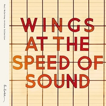 Wings Wings At The Speed Of Sound  Vinyl