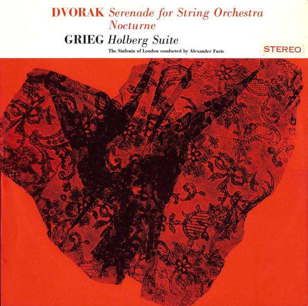 Dvorak / Grieg - Alexander Fari Serenade for String Orchestra, Noturne / Holberg Suite Vinyl