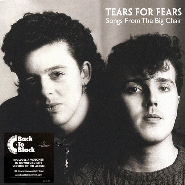 Tears For Fears Songs From The Big Chair Vinyl