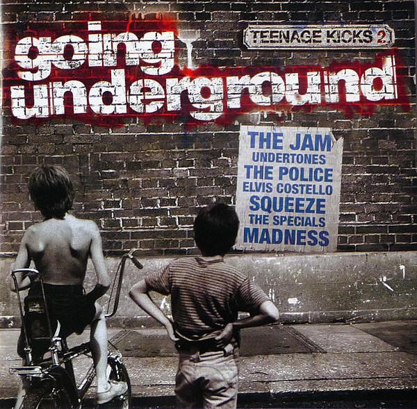 Various Teenage Kicks Vol 2 - Going Underground CD