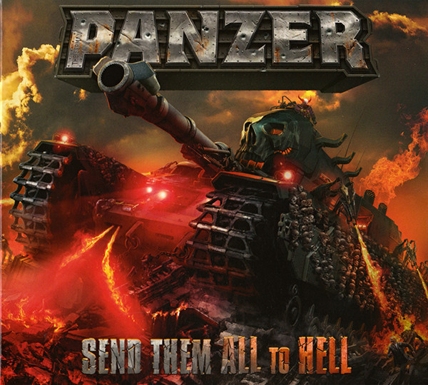 Panzer Send Them All To Hell Vinyl