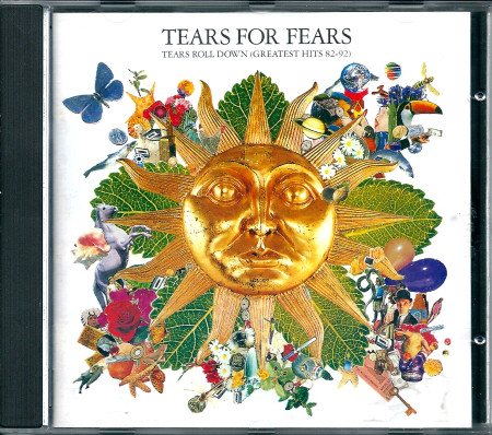 Tears For Fears Tears Roll Down Greatest Hits (82 - 92) CD