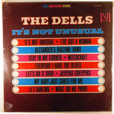The Dells It's Not Unusual Vinyl