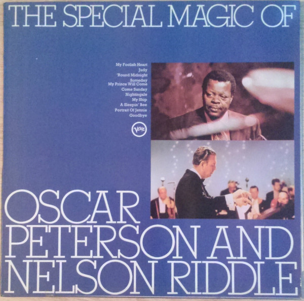Oscar Peterson And Nelson Riddle The Special Magic Of Oscar Peterson And Nelson Riddle Vinyl