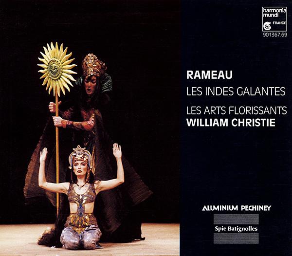 Rameau - Les Arts Florissants, William Christie Les Indes Galantes Vinyl