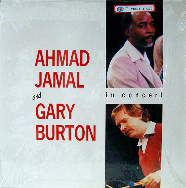 Ahmad Jamal and Gary Burton In Concert Vinyl