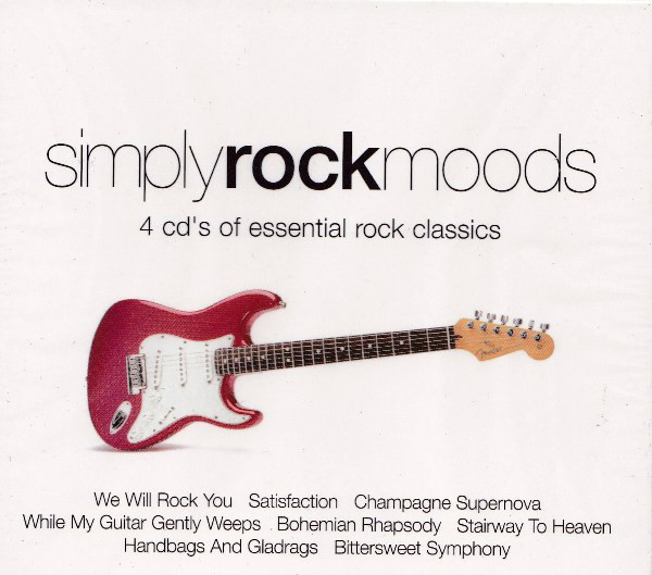 Various Simply Rock Moods - 4 CD's Of Essential Rock Classics  CD