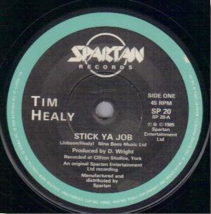 Healy, Tim Stick Ya Job/You're So Special Vinyl