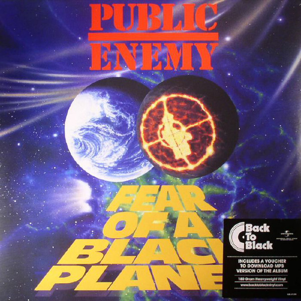Public Enemy Fear Of A Black Planet Vinyl