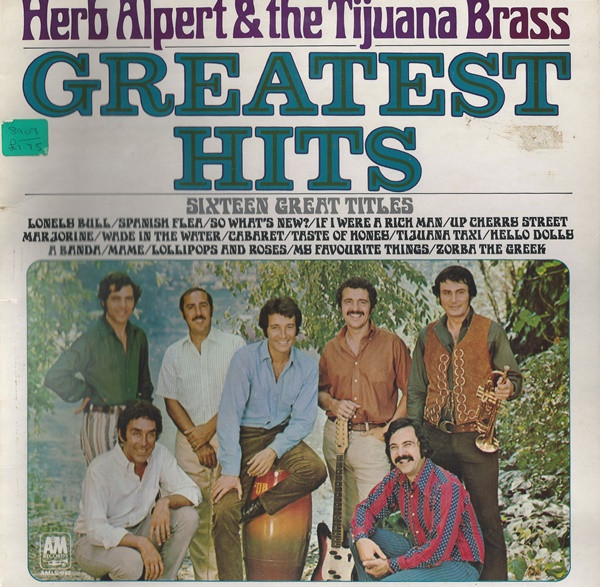 Alpert, Herb & The Tijuana Brass Greatest Hits (Sixteen Great Titles)
