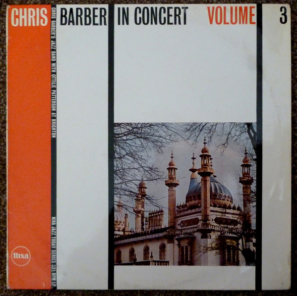 Barber, Chris Chris Barber In Concert Volume 3 Vinyl