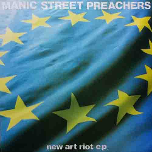 Manic Street Preachers New Art Riot Vinyl