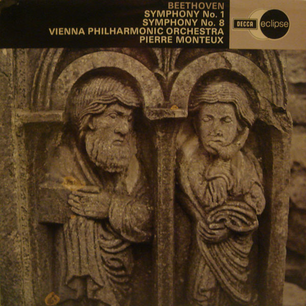 Beethoven - Pierre Monteux Symphony No. 1 / Symphony No. 8 Vinyl
